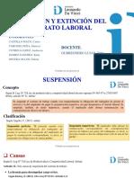 Suspensión y Extinción Del Contrato Laboral (1)