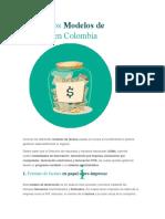 Modelos de Factura en Colombia