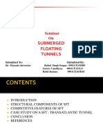 Civil Submerged Floating Tunnels Ppt