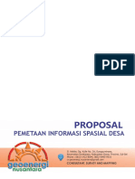 Proposal Teknis Pemetaan Desa