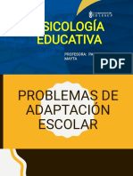Psico Edu Ppt5 Problemas Adaptacion