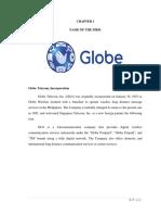 FIRM ANALYSIS OF GLOBE TELECOM, INCORPORATION