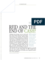 RFID and the End of Cash