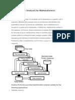 metabolomics bioinformatics