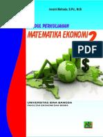 Modul Matematika Ekonomi 2