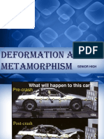 Deformation and Metamorphism