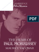 Maurice Yacowar - The Films of Paul Morrissey (Cambridge Film Classics) (1993).pdf