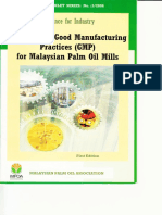 MPOB GMP Palm Oil Mills