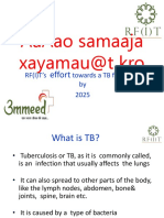 Final RF(I)T's TB Awareness PPT July 2018 English