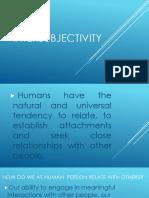 Intersubjectivity Ppt