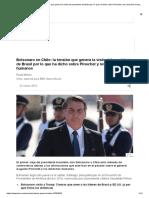 Bolsonaro en Chile_ La Tensión Que Genera La Visita Del Presidente de Brasil Por Lo Que Ha Dicho Sobre Pinochet y Los Derechos Humanos - BBC News Mundo