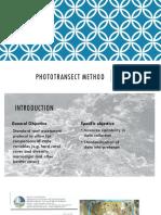 Phototransect Method