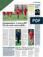 La Provincia Di Cremona 23-03-2019 - Il Preparatore