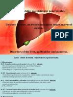Morfopatologia ficatului