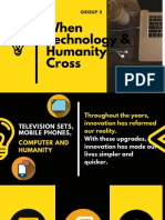 Yellow Modern Creative Corporate Social Media Strategy Presentation 1