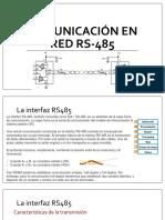 Comunicación en Red Rs-485