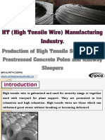 HT (High Tensile Wire) Manufacturing Industry