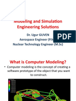 Modelling and Simulation in Engineering