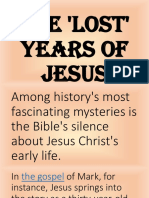 1THE LOST YEARS OF JESUS.pptx
