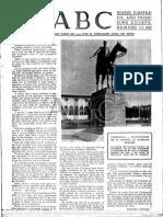 La Peste Roja. ABC, 13 de Noviembre de 1938