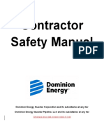 Contractor Safety Manual