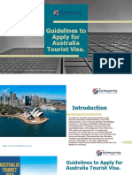 Australia ETA Tourist Visa Guidelines