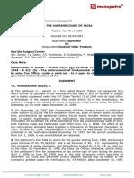 Ujjam Bai vs State of Uttar Pradesh