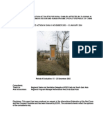 Echo Evaluation of Construction of Toilets for Rural Families Affected by Flooding
