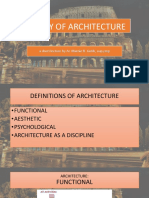 Theory of Architecture by m Gutib