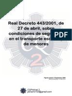 109 Rd 443 2001 Transporte Escolar