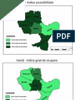 Regiunea de dezvoltare Sud-Est - Hărți indici