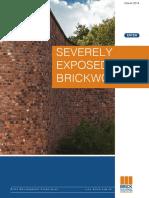 s Severely Exposed Brickwork