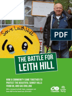 The Battle for Leith Hill. How a Community Came Together to Protect the Beautiful Surrey Hills From Oil and Gas Drilling