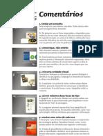 Comentários sobre os slides 20 regras para um bom design.