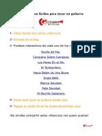 Villancicos en Guitarra PDF
