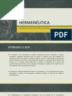 Presentación Hermeneutica