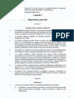 Directiva Calvet Sobre Condiciones Laborales Transparentes y Previsibles en La Unión Europea