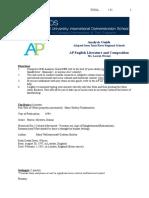 ap lit analysis frankenstein