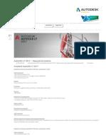 AutoCAD LT 2017 - Requisiti Di Sistema - Progetto CAD