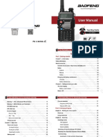Baofeng UV-5RX3 User Manual