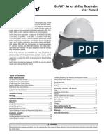 Bullard Genvx Blasting Helmet Operator Manual 6080089735b