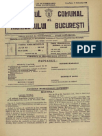 1928 - REGULAMENT CONSTRUCTII Monitorul Primăriei București 1928-01-22, Nr. 04