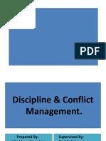 Discipline Conflict Management.