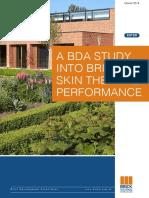 d Brick Skin Thermal Performance