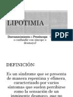 Lipotimia-Aula Espanhol TEXTO