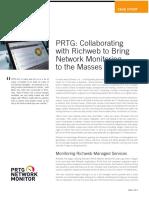 Prtg Collaborating With Richweb En
