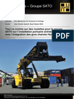 Hyster Cipac - Groupe SATO - Hyster RS45 Reach Stacker - Francais
