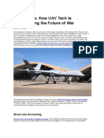 How UAV Tech is  the Future of War-2