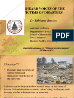Unheard Voices of the Victims of Disasters_subhasis_1