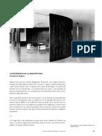 La Experiencia de La Arquitectura Ernesto n. Rogers